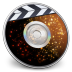 72x72px size png icon of iDVD Solar Flare