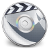 72x72px size png icon of iDVD Steel 01