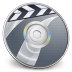 72x72px size png icon of iDVD Steel 03