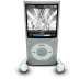 72x72px size png icon of iPodPhonesSilver