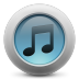 72x72px size png icon of iTunes simple
