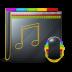 72x72px size png icon of Guyman Folder Music