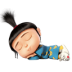 72x72px size png icon of Agnes Sleeping