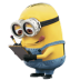 72x72px size png icon of Minion Reading