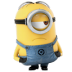 72x72px size png icon of Minion Sad