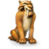 72x72px size png icon of Ice Age Diego