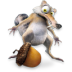 72x72px size png icon of Ice Age Scrat 2