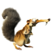 72x72px size png icon of Scrat