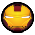 72x72px size png icon of Iron Man Mark III 01