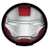 72x72px size png icon of Iron Man Mark V 01