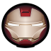 72x72px size png icon of Iron Man Mark VI 01