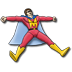 72x72px size png icon of Mighty Man
