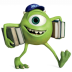 72x72px size png icon of Monsters Character Young Mikes