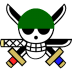 72x72px size png icon of Zoro