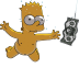72x72px size png icon of Bart Simpson 06 Nirvana Nevermind