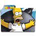 72x72px size png icon of Simpsons Folder The Movie 02