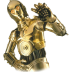 72x72px size png icon of C3PO