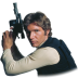 72x72px size png icon of Han Solo 02