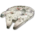 72x72px size png icon of Millenium Falcon 01