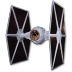 72x72px size png icon of Tie Fighter 01