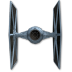 72x72px size png icon of Tie Fighter 03