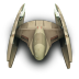 72x72px size png icon of DridStarFighter