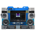 72x72px size png icon of Transformers Soundwave no tape front