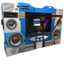 72x72px size png icon of Transformers Soundwave no tape side