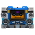 72x72px size png icon of Transformers Soundwave tape front