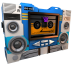72x72px size png icon of Transformers Soundwave tape side