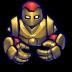 72x72px size png icon of Comics Golrediron