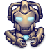 72x72px size png icon of Comics Hero Grey