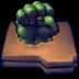 72x72px size png icon of Comics Hulk Fist Folder