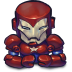 72x72px size png icon of Comics Ironman Patriot
