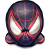 72x72px size png icon of Comics Spiderman Morales