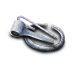 72x72px size png icon of silver