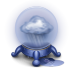 72x72px size png icon of rain