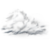 72x72px size png icon of cloudy