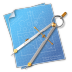 72x72px size png icon of Compasses