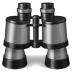 72x72px size png icon of binoculars