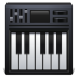 72x72px size png icon of piano keyboard