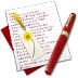 72x72px size png icon of Diary Bookmark