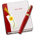 72x72px size png icon of Notebook Bookmark