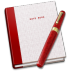 72x72px size png icon of Notebook Pen