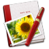 72x72px size png icon of Notebook Photo Sunflower