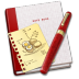 72x72px size png icon of Notebook Recipe