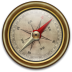 72x72px size png icon of Compass Vintage