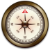 72x72px size png icon of Compass iPhone