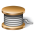 72x72px size png icon of rope