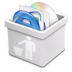72x72px size png icon of milk trash full